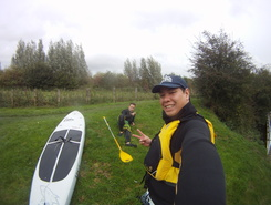 Boathouse spot de stand up paddle en Royaume-Uni