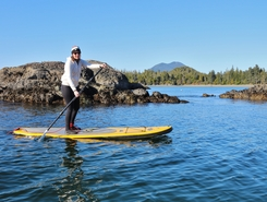 tofino  sitio de stand up paddle / paddle surf en Canadá