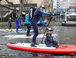 RAI amsterdam paddle board spot in Netherlands