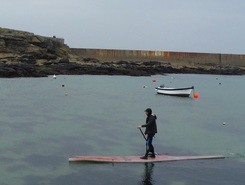 Run du Talud spot de stand up paddle en France