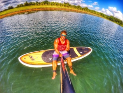Clube Nautico Buritama sitio de stand up paddle / paddle surf en Brasil