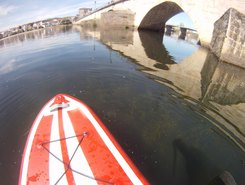 Mirandela paddle board spot in Portugal