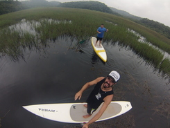Santo Andre paddle board spot in Brazil