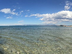 Izola paddle board spot in Slovenia