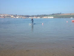 Polzeath to rock paddle board spot in United Kingdom