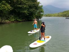 Mangaratiba paddle board spot in Brazil
