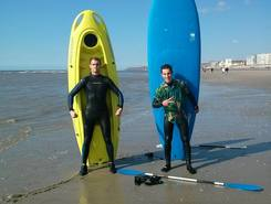 Hardelot-Plage paddle board spot in France