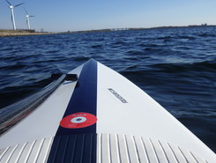 Powerstation Radio Mast paddle board spot in Denmark