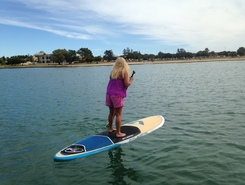West Lakes paddle board spot in Australia