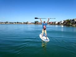 West Lakes spot de stand up paddle en Australie