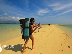 manyunod sandbar sitio de stand up paddle / paddle surf en Filipinas