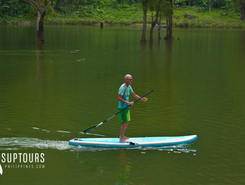 twin lakes paddle board spot in Philippines