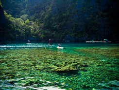 Coron spot de stand up paddle en Philippines