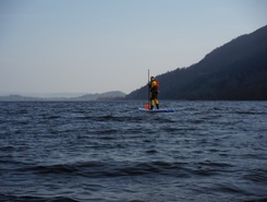 Loch Lomond North paddle board spot in United Kingdom