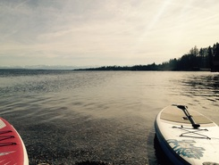Utting am Ammersee sitio de stand up paddle / paddle surf en Alemania
