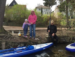 Slaughterlake spot de stand up paddle en Allemagne