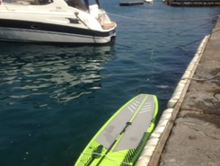 Portofino paddle board spot in Italy