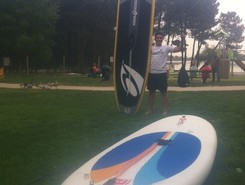 Bordeaux Lac paddle board spot in France
