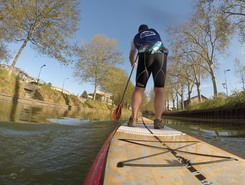 canal du midi paddle board spot in France