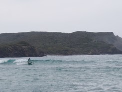 Es Grau paddle board spot in Spain