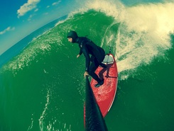 Hossegor sitio de stand up paddle / paddle surf en Francia