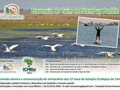 Ecological reserve of Taim RS. paddle board spot in Brazil