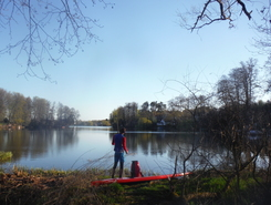 river Dahme paddle board spot in Germany