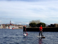 Hafenspitze / Ostufer sitio de stand up paddle / paddle surf en Alemania