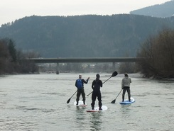 Inn river sitio de stand up paddle / paddle surf en Austria