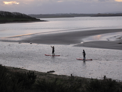 Scurmore bay  paddle board spot in Ireland