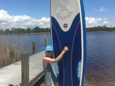 Western Lake, Grayton Beach, FL paddle board spot in United States