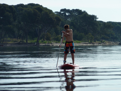 Gapeau spot de stand up paddle en France
