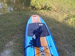 Dickinson bayou paddle board spot in United States