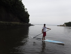 Paranagua  paddle board spot in Brazil