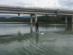 Peney-Dessous paddle board spot in Switzerland