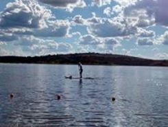 Barragem spot de stand up paddle en Brésil