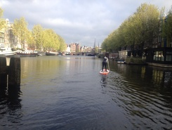 Amsterdam Canals  spot de stand up paddle en Pays-Bas