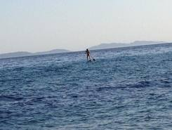Gigaro paddle board spot in France