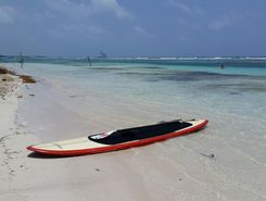 Mahahual paddle board spot in Mexico