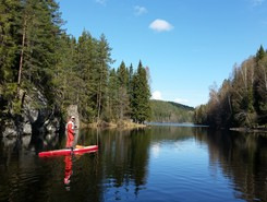 Nøklevann sitio de stand up paddle / paddle surf en Noruega