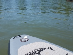 sand creek paddle. spot de stand up paddle en États-Unis