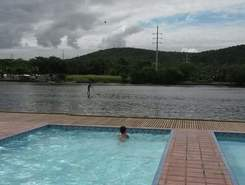 canal do Itajuru paddle board spot in Brazil