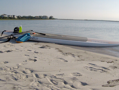 Figure Eight Island paddle board spot in United States
