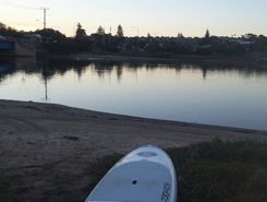 Port  Noarlunga, Onkaparinga river  paddle board spot in Australia