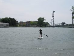Welland Canal  spot de stand up paddle en Canada