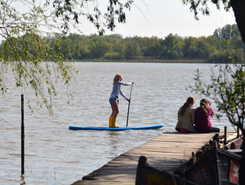 Vilkovo spot de stand up paddle en Ukraine