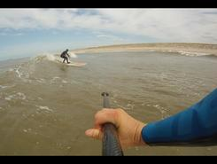 Maasvlakte P6 paddle board spot in Netherlands