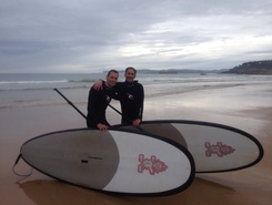 Playa El sardinero  paddle board spot in Spain