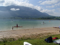 Lac d'Aiguebelette paddle board spot in France