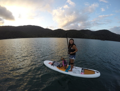 Saco do Céu paddle board spot in Brazil